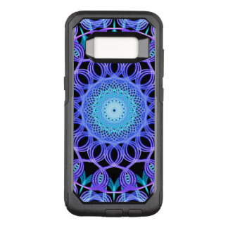 Capa OtterBox Commuter Para Samsung Galaxy S8 Mandala galáctica da Web