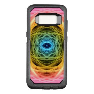 Capa OtterBox Commuter Para Samsung Galaxy S8 Mandala Hyper da movimentação