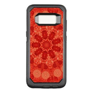 Capa OtterBox Commuter Para Samsung Galaxy S8 Mandala nónupla da estrela da paixão