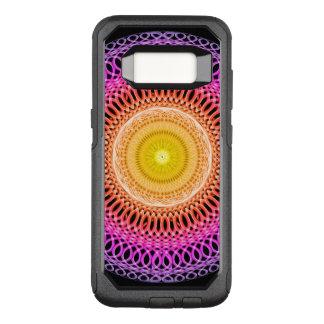 Capa OtterBox Commuter Para Samsung Galaxy S8 Mandala oriental do mosaico