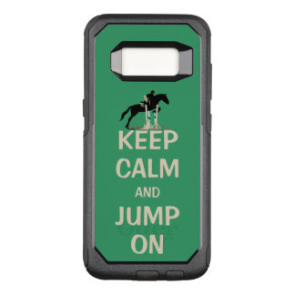Capa OtterBox Commuter Para Samsung Galaxy S8 Mantenha a calma e salte sobre