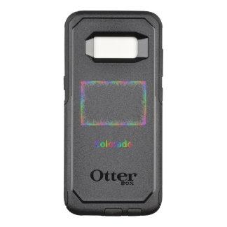 Capa OtterBox Commuter Para Samsung Galaxy S8 Mapa de Colorado do arco-íris