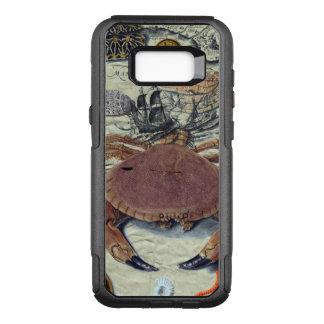 Capa OtterBox Commuter Para Samsung Galaxy S8+ Mapa do caranguejo