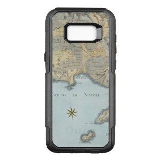 Capa OtterBox Commuter Para Samsung Galaxy S8+ Mapa do golfo de Nápoles e de arredores