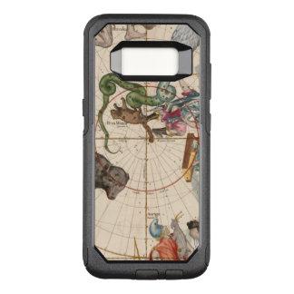 Capa OtterBox Commuter Para Samsung Galaxy S8 Mapa do vintage do Pólo Norte