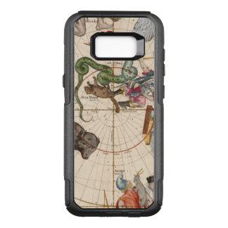Capa OtterBox Commuter Para Samsung Galaxy S8+ Mapa do vintage do Pólo Norte