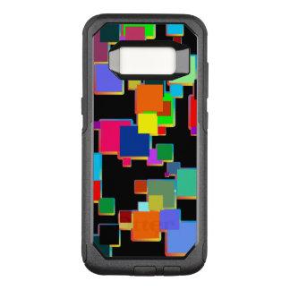 Capa OtterBox Commuter Para Samsung Galaxy S8 Minimalists quadrados com inclinação do contorno