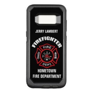 Capa OtterBox Commuter Para Samsung Galaxy S8 Modelo conhecido do sapador-bombeiro