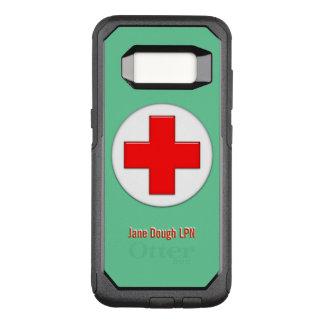 Capa OtterBox Commuter Para Samsung Galaxy S8 Modelo conhecido transversal da enfermeira