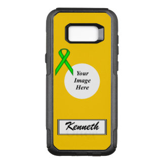Capa OtterBox Commuter Para Samsung Galaxy S8+ Modelo da fita de Stnd do verde limão por Kenneth