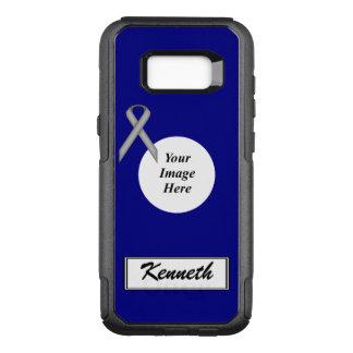 Capa OtterBox Commuter Para Samsung Galaxy S8+ Modelo padrão cinzento da fita por Kenneth Yoncich