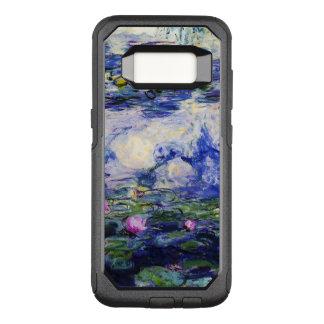 Capa OtterBox Commuter Para Samsung Galaxy S8 Monet-Água-Lírios de Claude