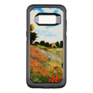 Capa OtterBox Commuter Para Samsung Galaxy S8 Monet-Papoilas de Claude em Argenteuil