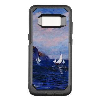 Capa OtterBox Commuter Para Samsung Galaxy S8 Monet-Penhascos e veleiros de Claude em Pourville