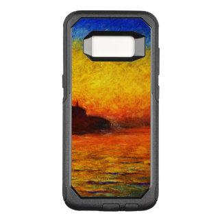 Capa OtterBox Commuter Para Samsung Galaxy S8 Monet-Por do sol de Claude em Veneza