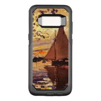 Capa OtterBox Commuter Para Samsung Galaxy S8 Monet-Veleiro de Claude em Le