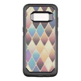 Capa OtterBox Commuter Para Samsung Galaxy S8 Mosaico Pastel do diamante