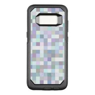Capa OtterBox Commuter Para Samsung Galaxy S8 Mosaico quadrado pálido