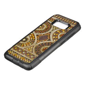 Capa OtterBox Commuter Para Samsung Galaxy S8+ Mosaicos medievais de Murano no estilo do