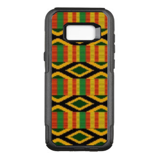 Capa OtterBox Commuter Para Samsung Galaxy S8+ Multi design africano do teste padrão da cor