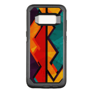 Capa OtterBox Commuter Para Samsung Galaxy S8 Multi design colorido africano do teste padrão