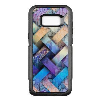 Capa OtterBox Commuter Para Samsung Galaxy S8+ Multi design colorido do Weave de cesta