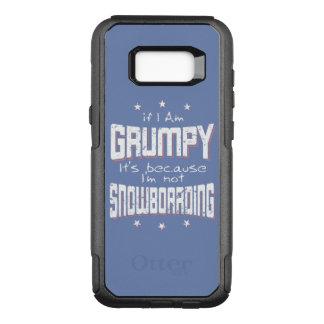 Capa OtterBox Commuter Para Samsung Galaxy S8+ Não SNOWBOARDING MAL-HUMORADA (branca)