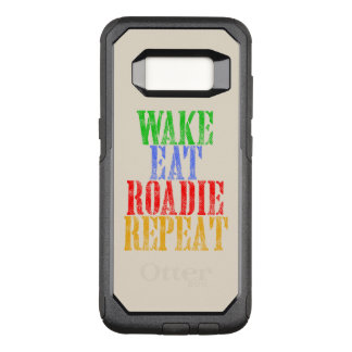 Capa OtterBox Commuter Para Samsung Galaxy S8 O acordar come a repetição de ROADIE