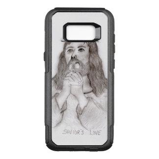 Capa OtterBox Commuter Para Samsung Galaxy S8+ O amor do salvador