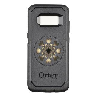 Capa OtterBox Commuter Para Samsung Galaxy S8 O amor é tudo que você precisa a capa de telefone