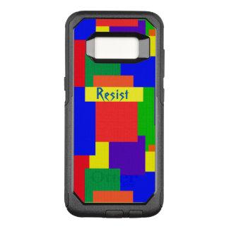 Capa OtterBox Commuter Para Samsung Galaxy S8 O arco-íris da edredão de retalhos resiste a caixa