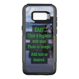 Capa OtterBox Commuter Para Samsung Galaxy S8+ O clique simples e substitui a imagem para criar