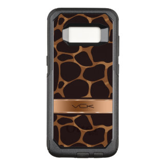 Capa OtterBox Commuter Para Samsung Galaxy S8 O cobre moderno tonifica o teste padrão estilizado
