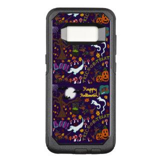Capa OtterBox Commuter Para Samsung Galaxy S8 O Dia das Bruxas do Dachshund da diva