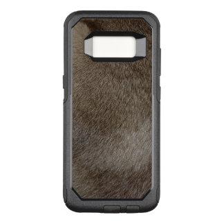 Capa OtterBox Commuter Para Samsung Galaxy S8 O olhar da pele luxuoso do gato Siamese do ponto