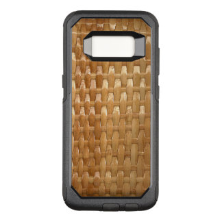 Capa OtterBox Commuter Para Samsung Galaxy S8 O olhar da textura de vime de Basketweave da laca