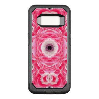 Capa OtterBox Commuter Para Samsung Galaxy S8 O rosa floresce a mandala