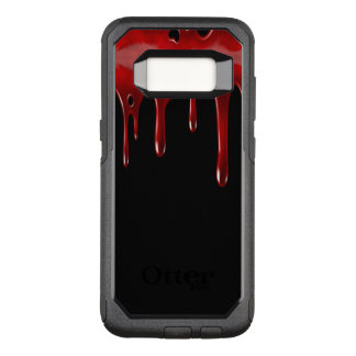 Capa OtterBox Commuter Para Samsung Galaxy S8 O sangue de Falln goteja o preto