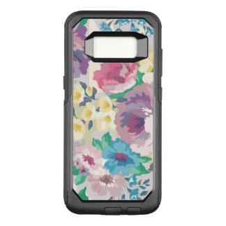 Capa OtterBox Commuter Para Samsung Galaxy S8 O verão colorido moderno floresce a ilustração