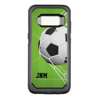 Capa OtterBox Commuter Para Samsung Galaxy S8 OBJETIVO personalizado do futebol