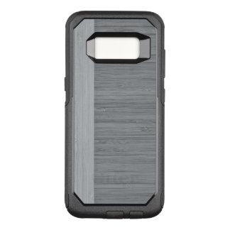 Capa OtterBox Commuter Para Samsung Galaxy S8 Olhar de madeira da grão da beira de bambu dos