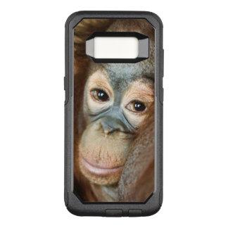 Capa OtterBox Commuter Para Samsung Galaxy S8 Orangotango do bebê