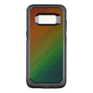 Capa OtterBox Commuter Para Samsung Galaxy S8 Orgulho de bronze do abstrato do na moda de Ombre