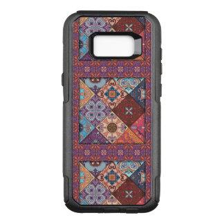 Capa OtterBox Commuter Para Samsung Galaxy S8+ Ornamento de talavera do mosaico do vintage