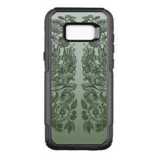Capa OtterBox Commuter Para Samsung Galaxy S8+ ornaments o verde de musgo