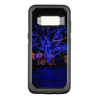 Capa OtterBox Commuter Para Samsung Galaxy S8 Os cumprimentos azuis da árvore