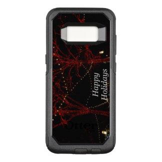 Capa OtterBox Commuter Para Samsung Galaxy S8 Os cumprimentos vermelhos dos pares