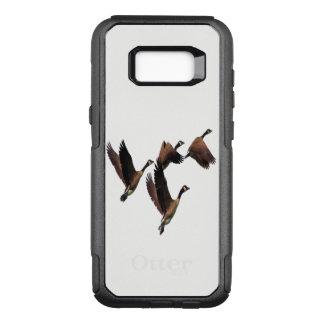 Capa OtterBox Commuter Para Samsung Galaxy S8+ Os gansos canadenses que voam em um rebanho caçoam