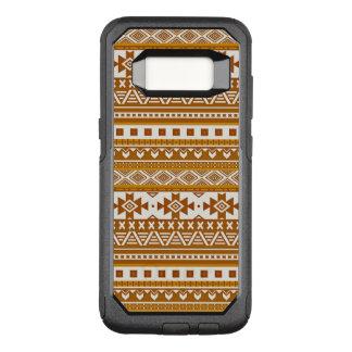 Capa OtterBox Commuter Para Samsung Galaxy S8 ouro tribal extravagante do teste padrão 08 da