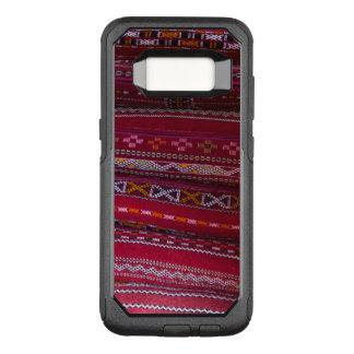 Capa OtterBox Commuter Para Samsung Galaxy S8 Padrões do travesseiro de matéria têxtil
